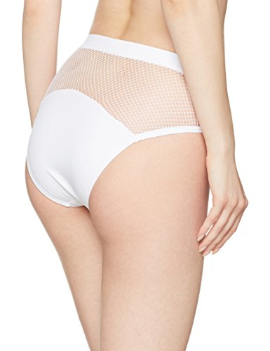 Pour Moi Glamazon High Leg, Braguita de Bikini para Mujer blanco