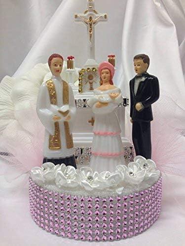 Godmother /& Baby Christening Cake Topper Mother and Baby Cake Topper Cake Decoration Madrina de Bautizo Cake Supply Baby Shower Cake