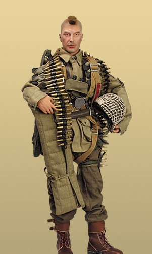 1/6 Scale Did - 1/6 Scale DID WW2 US 101st Airborne Division Ricky Foster 80035