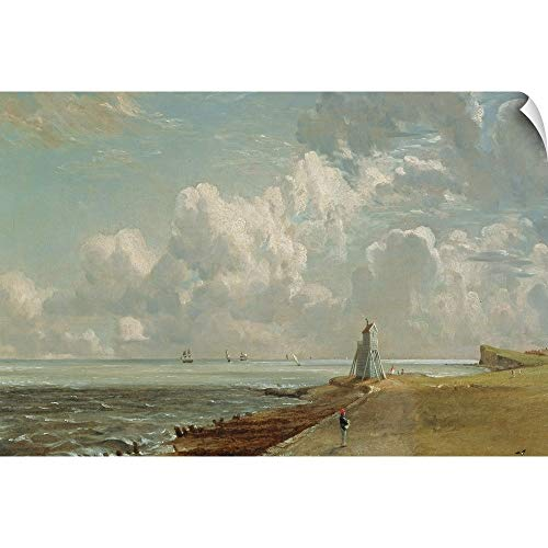 CANVAS ON DEMAND Harwich, The Low Lighthouse and Beacon Hill, c.1820 Wall Peel Art Print, 18