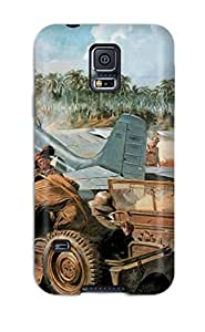 Hot Case Cover Protector For Galaxy S5 Wildcats At Guadalcanal Case
