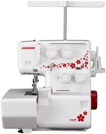Janome 4250229846705 - Máquina remalladora 990d Jubilee: Amazon.es ...