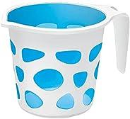 Extremely Premium Plastic Duplex Designer Mugs for Bathroom Bath Accessory x 1 Mug BPA free Bathing Mugs Dabba