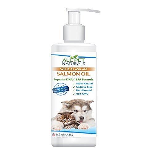 All Pet Naturals Premium Alaska Salmon Oil - 16 oz with pump