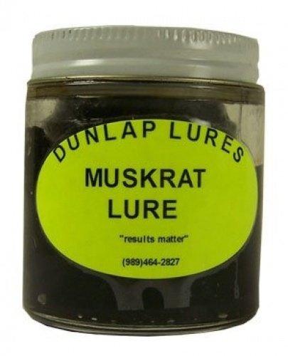 Dunlap's Muskrat Lure (4 oz.) (Muskrat Fur)