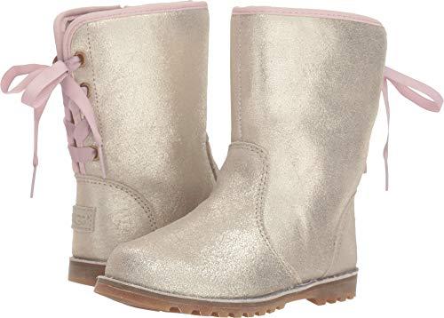 UGG Girls' T Corene Metallic Fashion Boot, Gold, 7 M US Toddler ()
