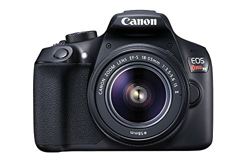 Canon EOS Rebel T6 Digital SLR Camera Kit with EF-S 18-55mm f/3.5-5.6 IS II Lens, Built-in WiFi and NFC - Black (US Model) (Best New Canon Dslr)