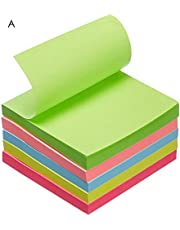 "AmazonBasics Sticky Notes - 3"" x 3"", Yellow - 12-Pack"