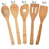 Bamboo Style 5-Piece Utensil Set