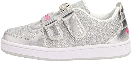 Lelli Kelly Colorissima Sneaker Silver Textile Infant Trainers Silber