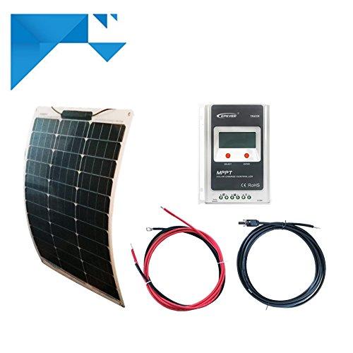 Kit solaire MPPT 50W 12V souple autonome sans batterie EPEVER