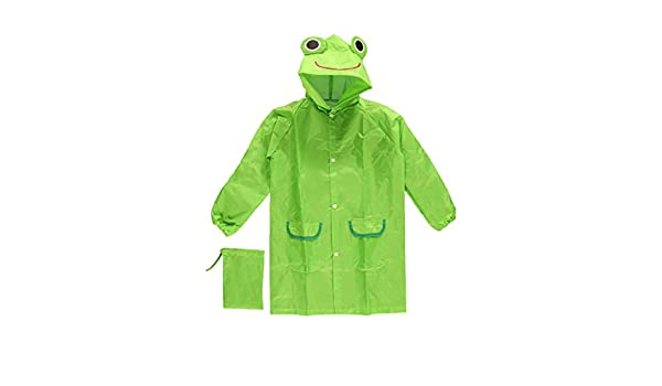 Cloudnine Childrens Froggy Raincoat, for ages 5-12 One size fits all by Cloudnine Umbrellas: Amazon.es: Bebé