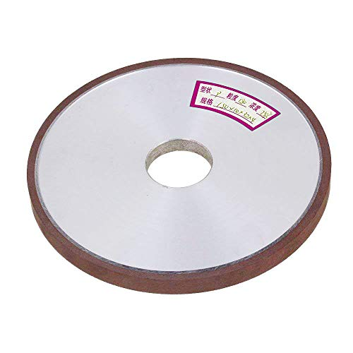 Metal Grinding Disc Bond Diamond (LDEXIN 6-Inch 150 Grit Resin Bond Plain Type Resin Bond Diamond Grinder Grinding Wheel Cutter Flat Disc Tool for Carbide Metal 150x32x10x4mm)