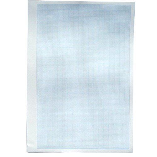 A4 Graph / Chart Paper - 2mm Squares - 500 Sheets = 1000 Graphs - 11.7 X 8.3 by Paper Things