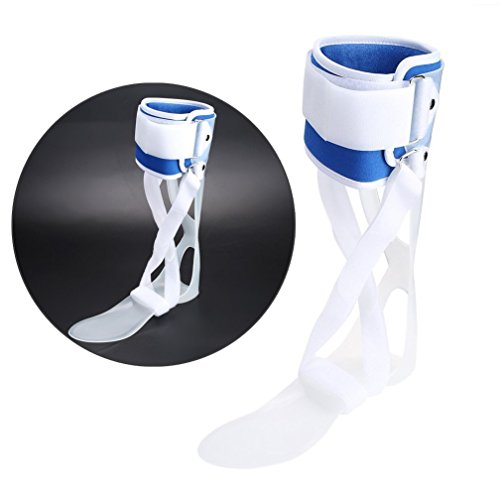 FDA Attestation Foot Droop Orthosis Ankle Foot Drop Postural Correction Brace Orthosis Splint (Right M) Ankle Foot Orthosis