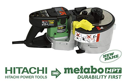 Metabo HPT VB16Y 40-Pound Portable Rebar Bender and Cutter, Up to Number 5 Grade 60 Rebar (3/8