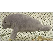 "Wishpets Manatee Plush Toy 12"" Gray"