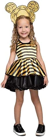 Fantasia Lol Infantil Abelha Queen Bee Com Tiara Peruca Amazon Com Br