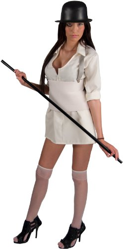 A Clockwork Orange Brother Droog Woman Deluxe Adult Costume (Standard (Droog Clockwork Orange Costume)