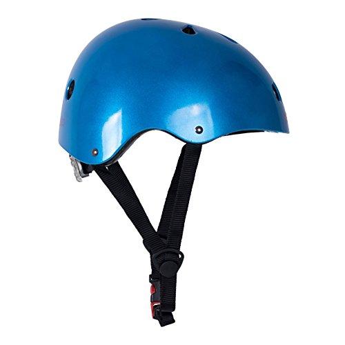 Kiddimoto Helmet, Metallic Blue, Small (48-53 cm) by Kiddimoto (Image #4)