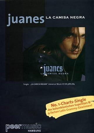 Juanes: La Camisa Negra. Partituras para Piano y Voz: Amazon ...