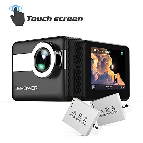 DBPOWER 4K Touchscreen Action Camera, 2.31