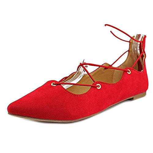 Material Girl Frauen MIBBY Ballerinas, flach Red