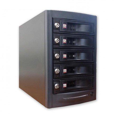 Thunderbolt JBoD 5x SATAIII (6Gb) hot swap Enclosure for MAC, Windows by DATOptic Inc