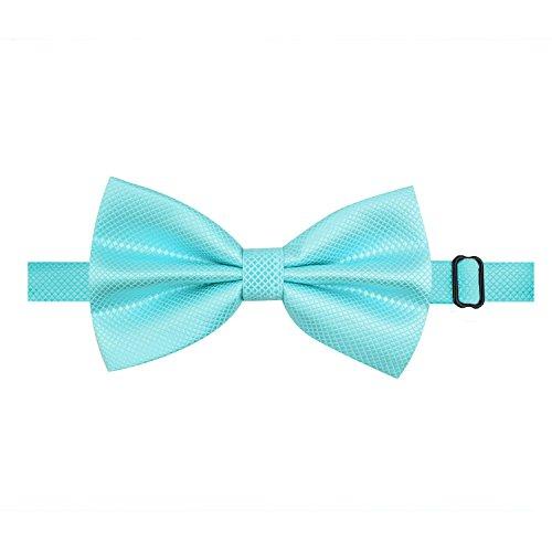 della annodata Man Festa a farfalla nuziale già Cravatta Alizeal festa turquoise IfUZnq