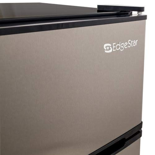 Dorm Sized Energy Star Compact Fridge//Freezer Ft EdgeStar CRF321SS 3.1 Cu