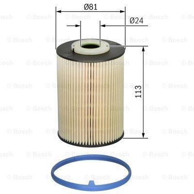 Bosch F026402128 Kraftstofffilter