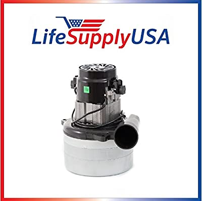 """Central Vac Vacuum Motor 3 STAGE with Wires Will Fit Most Brands 5.7"""" 120 Volt 1400 Watt UL Listed by LifeSupplyUSA"""