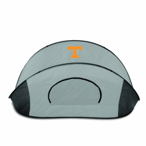 PICNIC TIME NCAA Tennessee Volunteers Manta Portable Pop-Up Sun/Wind Shelter