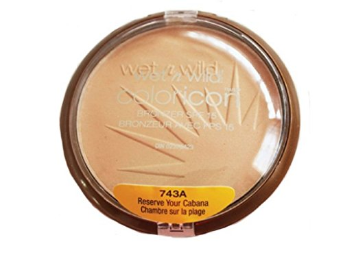 Wnw Bronzer 743a Resrve C Size .46fl Wet N Wild Color Icon Bonrzer Reserve Your Cabana Spf 15 - 743a