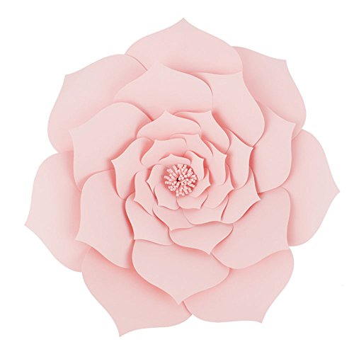 Large Lobus Apicalis Handmade Paper Flower 30cm(12 In) or 40cm(16 In)Wedding Photography Flower,Table Centerpieces,Backdrop Wall Decoration,Garlands & Parties,Home Decor,Nursery Decorations Nine Color