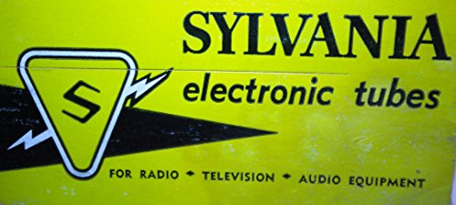 6X8 Sylvania Electronic Vacuum Tube New In Box - Vintage Old USA Dealer Stock- NOS NIB Electron AMP Power Valve - Tested & ()