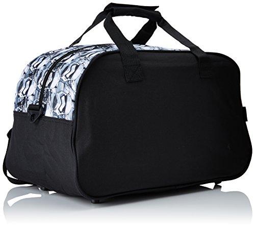 Safta Ep.VII sacchetto di sport, di colore nero e rosso