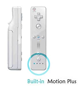 Mando Wii Remote con Wii motion plus incorporado [COMPATIBLE] BLANCO