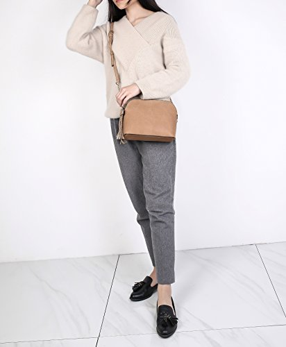 Cross Crossbody Handbags Collection for Satchel Purses Women Grey Bags and Pocketbook Body MKF Oq8rO1wf