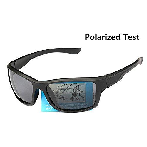 Los Polarizadas Black del Vidrios METAL Hombres Gafas Gafas Sol De De De KTYX Color de Los Deporte Sol txvBwHqf