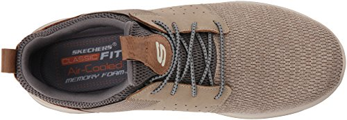 Skechers Hombres Classic Fit-delson-camden Sneaker Taupe