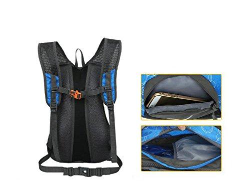 CHENGYUXUAN Outdoor-Sport-Männer Und Frauen Paket Reiten,MilitaryGreen Blue