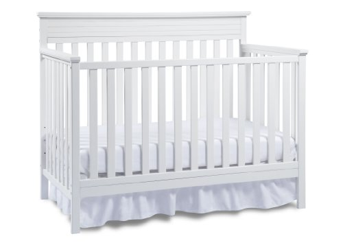 Fisher-Price Newbury Convertible Crib-Snow White