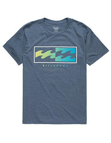 Billabong Inverse 2 T-Shirt, Indigo, Large from Billabong