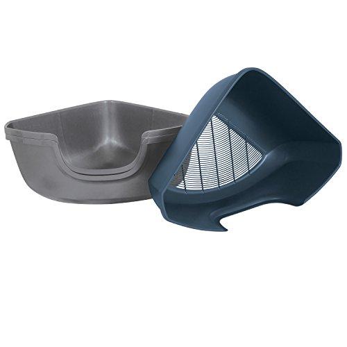 Petmate 42101 Sifting Corner Litter Pan ()