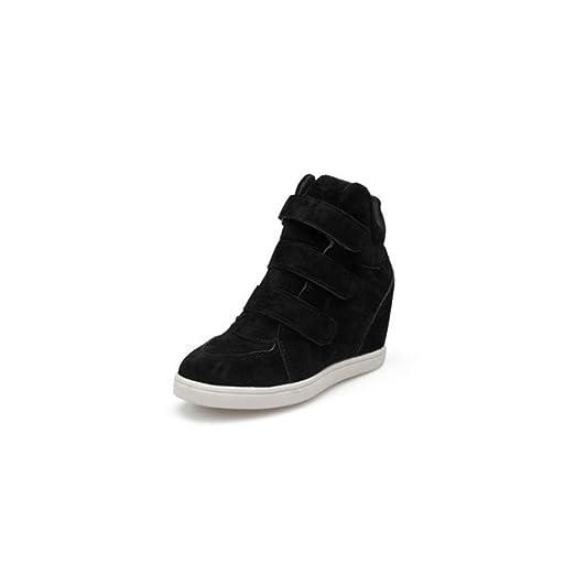 274891da839a Women s Girls Classic  Hidden Heel Casual Shoes  Autumn Outdoor Sneaker  Boots Waterproof Snow Boot