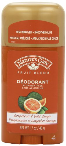 Nature's Gate Organics Fruit Blend Deodorant, Grapefruit and Wild Ginger, 1.7 Ounce Natures Gate Deodorant
