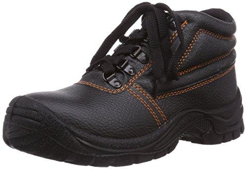 Gevavi 4w-12 4-work S3 High Black 43 - Calzado de protección Unisex adulto zwart
