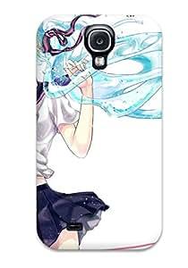 Series Skin Case Cover For Galaxy S4(vocaloid Animal Bottle Miku Fish Hatsune Miku Iria Yumeirokingyo Seifuku Vocaloid )