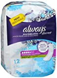 Always Discreet Bladder Protection Pads Maximum Absorbency Long Length - 3 pks of 12, Pack of 5